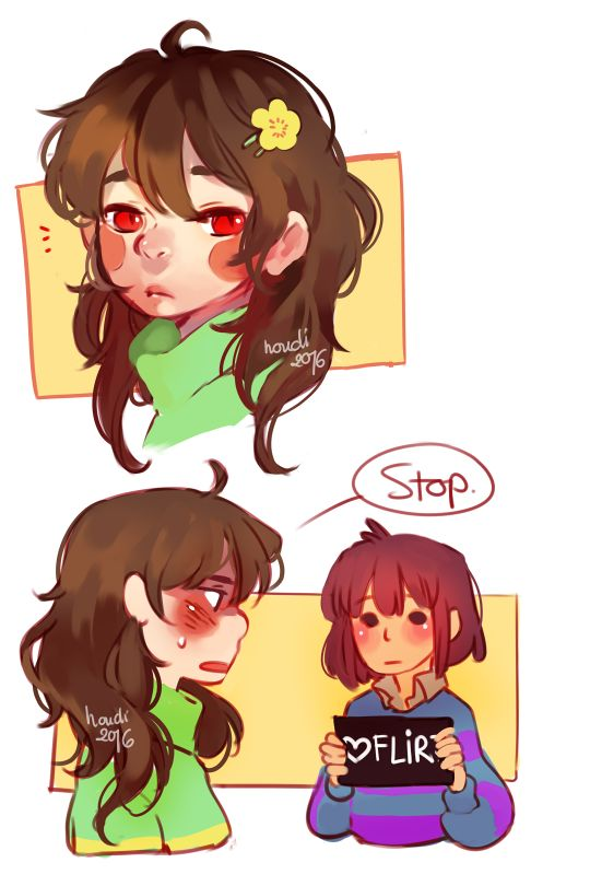 Twitter  Commission Houdis Art Chara With Long Hair -4867