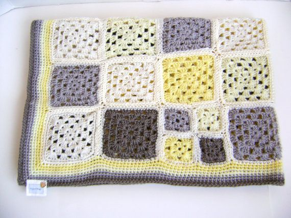 Crochet Pattern for Granny Cherub Baby Blanket - Perfect for any boy or girl. $5.00, via Etsy.