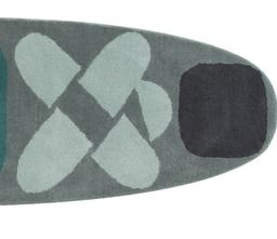 Gandia Blasco Surf Race Indico Blue Hand Tufted Wool Rug | 2Modern Furniture & Lighting 2 x 9