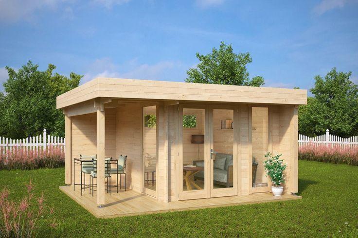 Salon De Jardin Salle De Jardin Mini Hansa Lounge 9m2 44mm 3 X 3 M Jardin Contemporain 9m2 Cabane Jardin