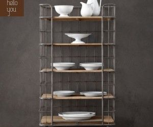 Circa 1900 Bakeru0027s Rack Tower By Restoration Hardware: Versatile Storage  Possibilities With A Light Airy Feel, Available In Widths.