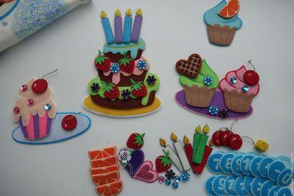 """Развивающие игрушки ручной работы. Заказать Развивающая игрушка """"Магазин сладостей"""", возраст  2,5+. Олеся Юрлова. Ярмарка Мастеров."""