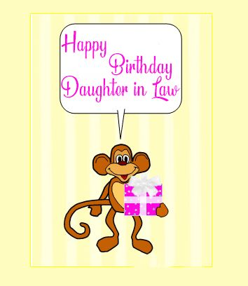 Funny Happy Birthday Daughter In Law Images
