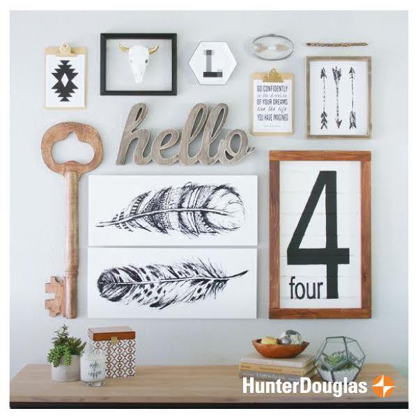 Esos detalles que hacen de tus espacios un lugar especial, transformándose en el rincón favorito de tu hogar. #HunterDouglas #Innovation #FelizMartes #Deco