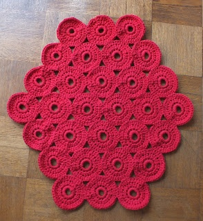 Crocheted rug by annikaisa