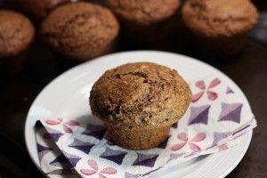 #Muffins au #son à la #mélasse #mardimuffins