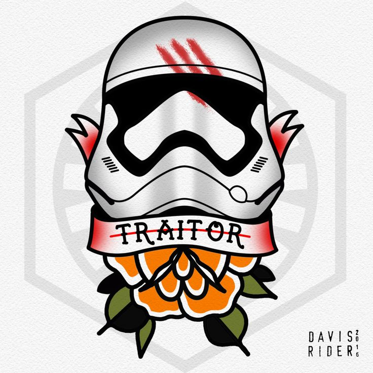 TRAITOR! This is the first piece from a new Force Awakens flash sheet I'm working on. I'll post the full sheet soon! Follow me on Instagram - @Davis.Rider