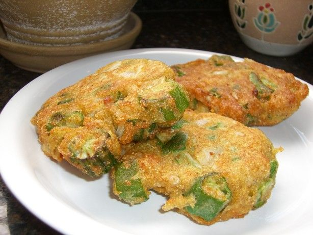 Make and share this Pete's Okra Patties recipe from Food.com.