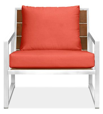 Montego Outdoor Lounge Chairs with Cushions - Modern Outdoor Chairs & Chaises - Modern Outdoor Furniture - Room & Board