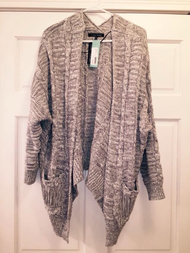 "I received this sweater in my last fix. It is so soft and comfortable and stylish. My older daughter said it is the ""perfect sweater"". I agree. This one is gonna get a lot of use! Thank you Rhonda! :)"