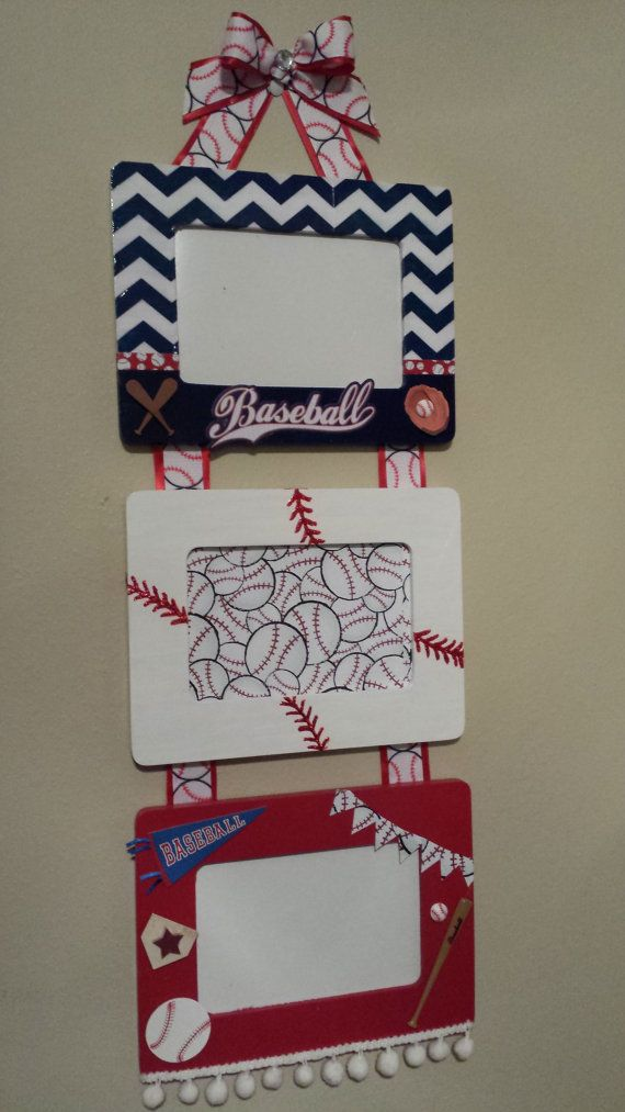 Hey, I found this really awesome Etsy listing at https://www.etsy.com/listing/187337077/handmade-painted-4-x-6-wooden-baseball baseball frame shirt mom frames
