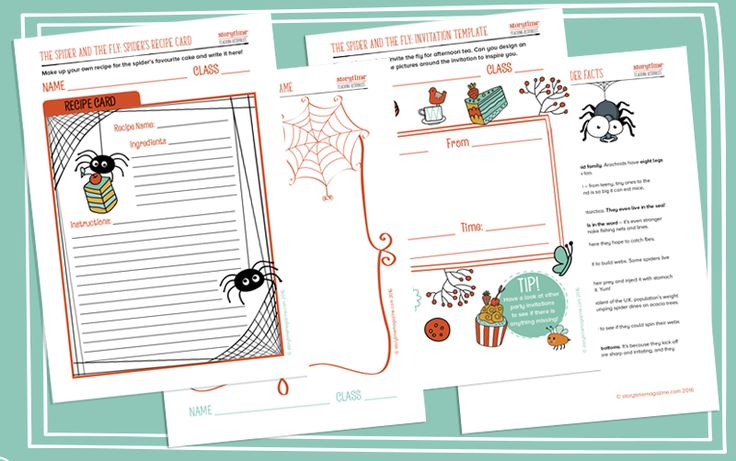 Schools who subscribe get our The Spider and the Fly teacher's resource pack for free! Find out more at http://www.storytimeforschools.com/teaching-resources