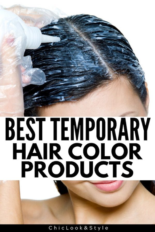 Best Temporary Hair Color Products According To Professional Colorists In 2020 Best Temporary Hair Color Temporary Hair Color Hair Color