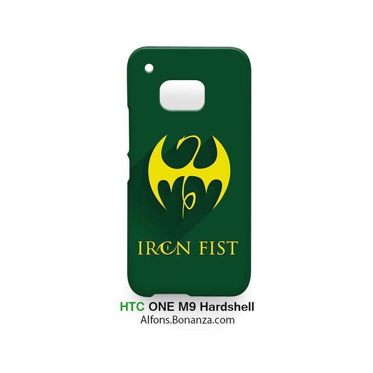 Iron Fist Logo Superhero HTC One M9 Hardshell Case