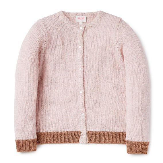 Lurex Knit Cardi