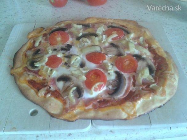 Dukanova diéta. Veľmi rýchla pizza bez múky.