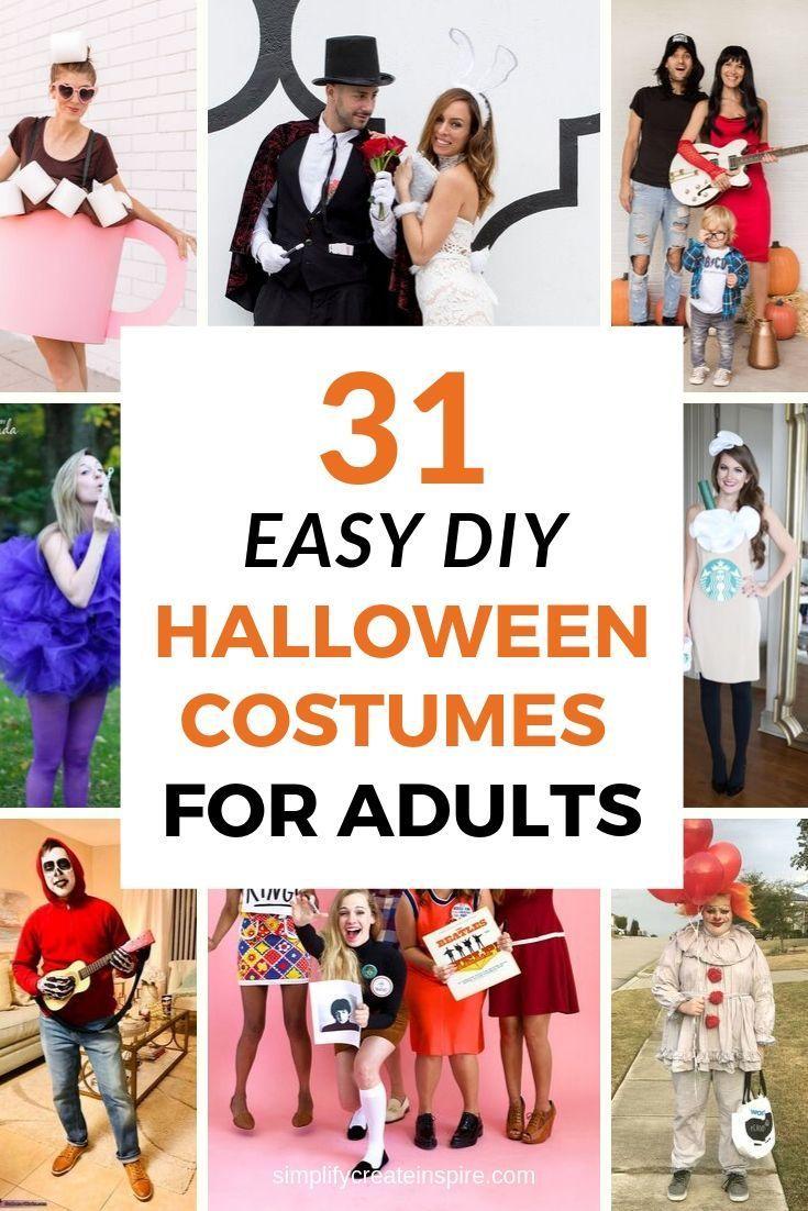 Best Homemade Womens Halloween Costume Ideas 2020 Pin on Halloween Time