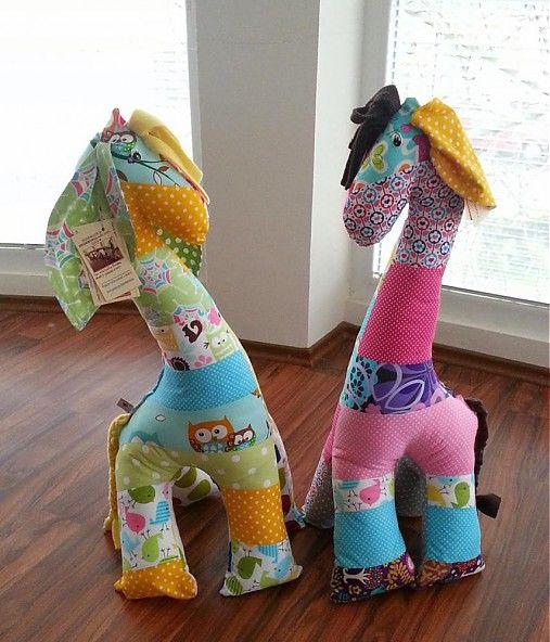 HEDERVIGA / Žirafka ušatá ... 75cm ...na objednávku ! !