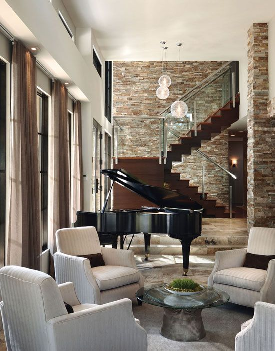 Walls Without Limits Stair DesignPiano RoomHome
