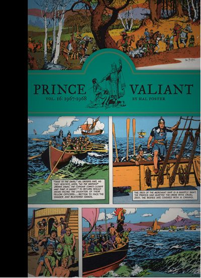 Upcoming Arrivals :: Prince Valiant Vol. 16: 1967-1968