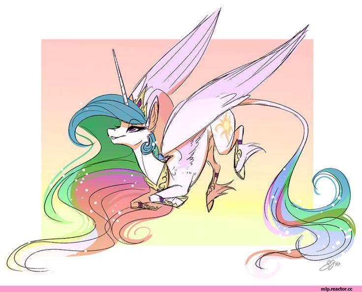 mlp art,my little pony,Мой маленький пони,фэндомы,Princess Celestia,Принцесса Селестия,royal,Famosity