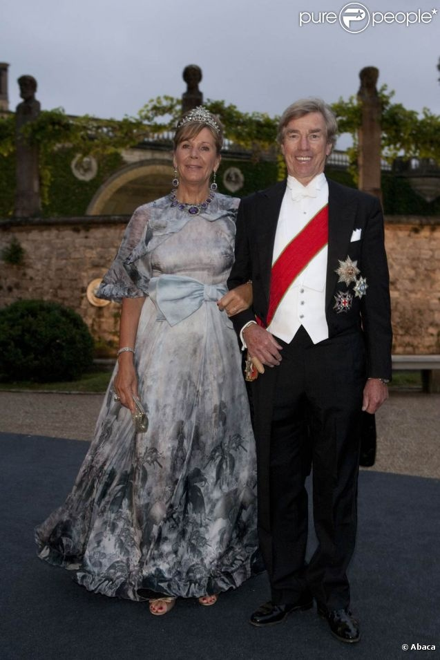 Prince Leopold and his wife Uschi of Bavaria