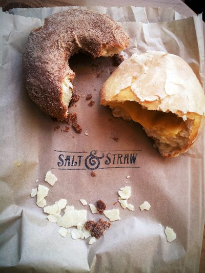 Salt & Straw ice cream shop also has lovely pastries up at NW 23rd location