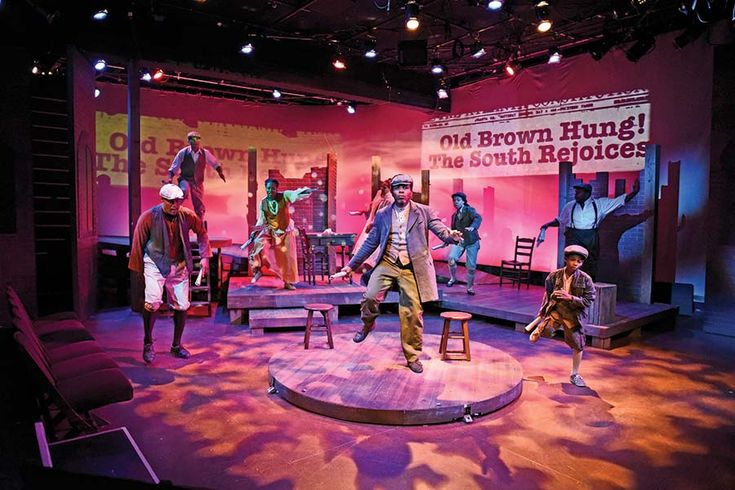 Southern Female Playwrights, Leaving the Front Porch Behind  The South depicted by an emerging group of playwrights is complicated and diverse, and there's not a mint julep in sight ('Uprising' by Gabrielle Fulton at Atlanta's Horizon Theatre. (Photo by Jay Bowman)