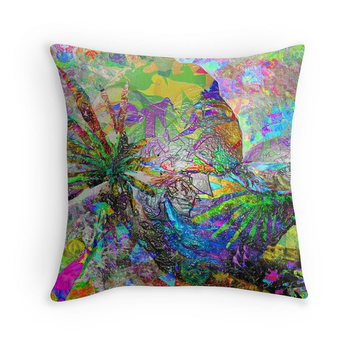 tropical Throw Pillows