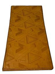 Afrikai Woven arany háromszög minta Nagykereskedelmi Super brokát 10 yard brokát-28-3