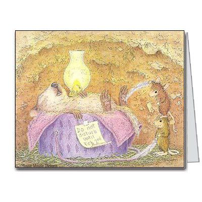 """""""Tickle Phil, 10 Blank cards & 10 Envelopes"""" from House-Mouse Designs® (N2001-2B10) was recently purchased by Trudy, from Hamburg, PA. Click the link above for more info."""