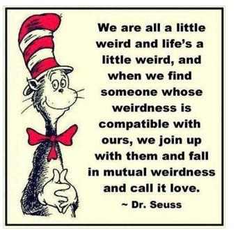 Weird Love Humour Citation Walt Whitman