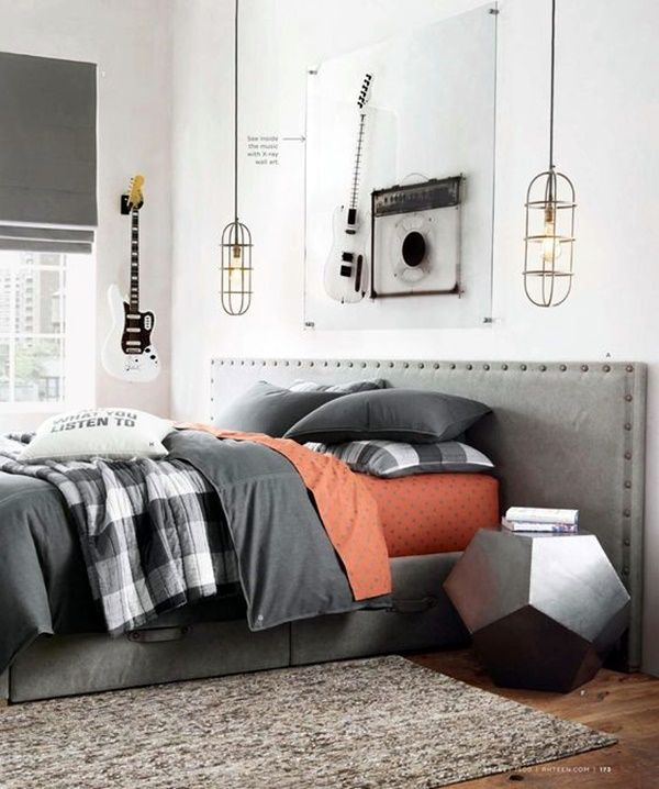 Modern Mens Bedroom, Men's Bedroom Decor And Man