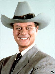 RIP Larry Hagman, aka JR Ewing and Major Nelson - we'll miss you! xo