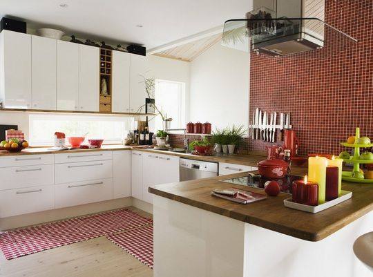 BILDSPECIAL: Rött och snyggt kök   Leva & bo   Inredning, tips om möbler, trädgård, heminredning, bygg   Expressen