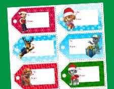 PAW Patrol - Christmas Gift Tags