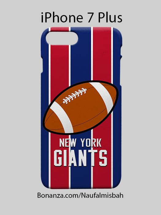 New York Giants Inspired iPhone 7 PLUS Case Cover