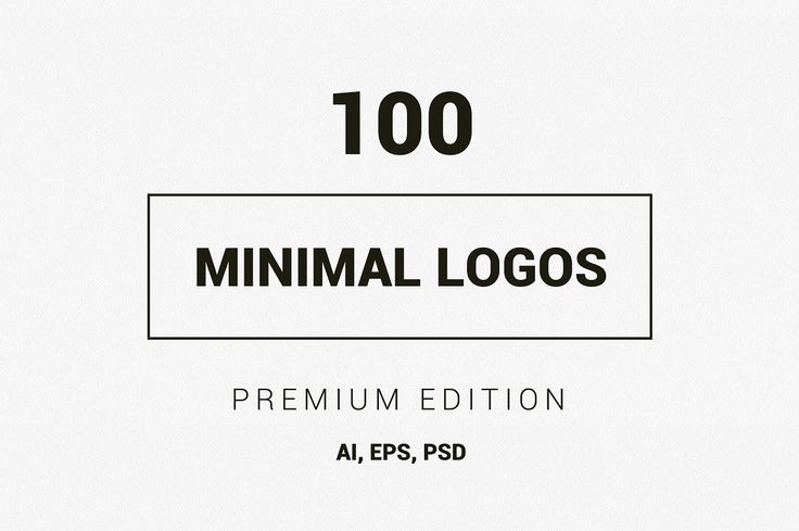 100 Minimal Logos - Premium Kit by DesignDistrict on @creativemarket
