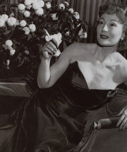Magda Gabor-- with the cigarette!!!