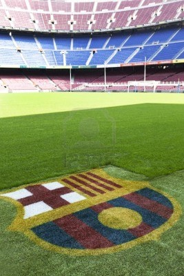 [Nou Camp. FC Barcelona. Catalonia]