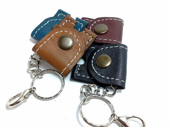 New case for 35 sim card holder handmade from camel by TIZART, $12.00
