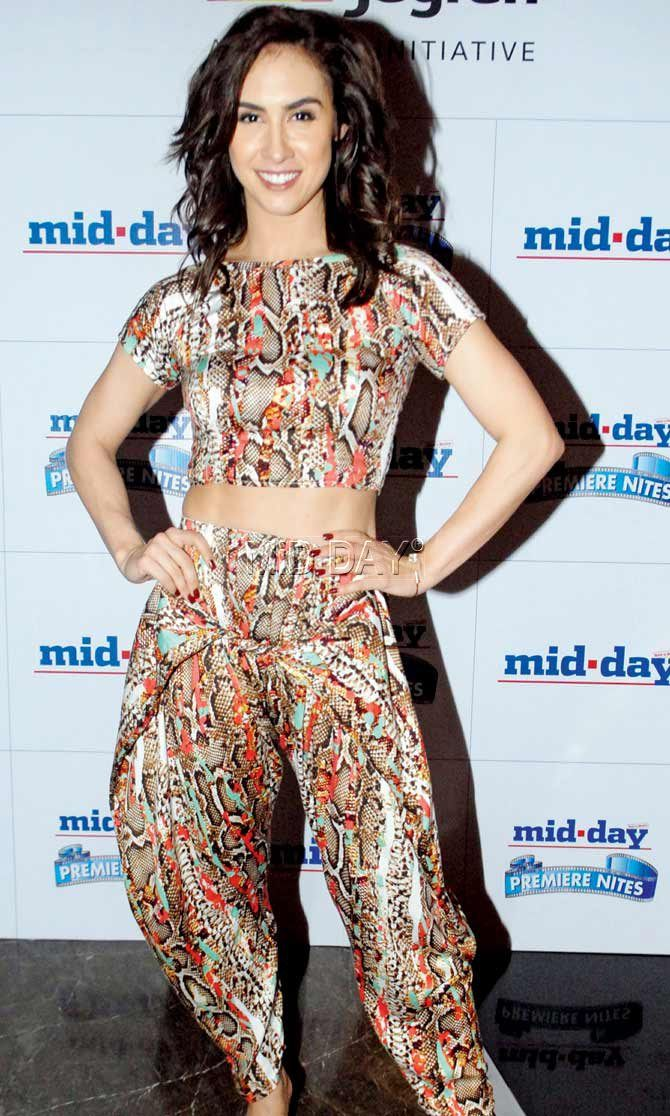 Lauren Gottlieb at a special screening of 'Welcome 2 Karachi'. #Bollywood #Fashion #Style #Beauty