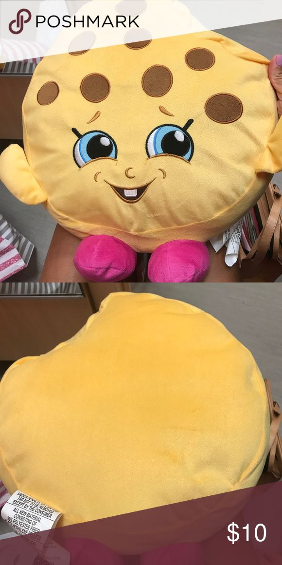 Shopkin Pillow Kookie kookie pillow. No stains, condition new. Accessories
