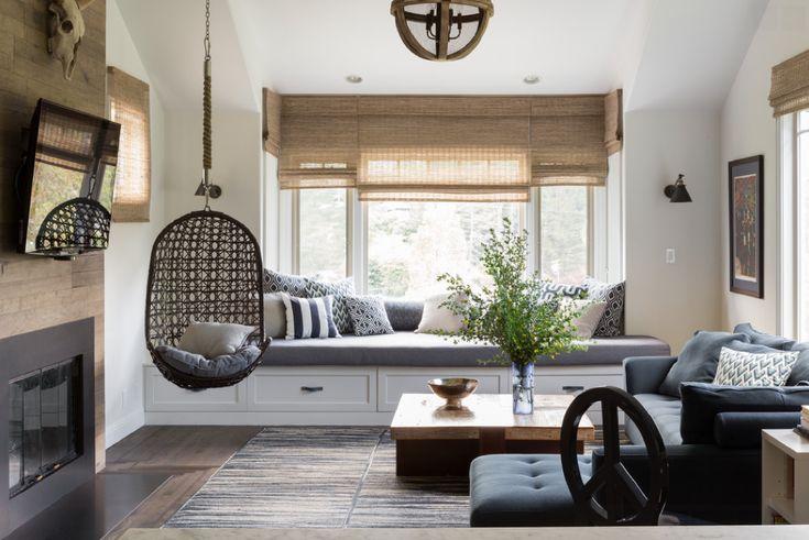 En 2016, vous vous êtes offert comme cadeau de rénover et redécorer votre salle de séjour ? Découvrez 11 idées de salle de séjour de style fermette.