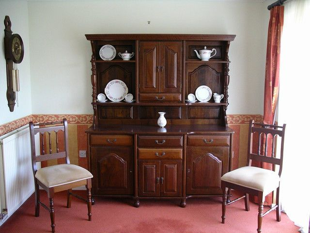 Imbuia Dining Room Suite And Dresser