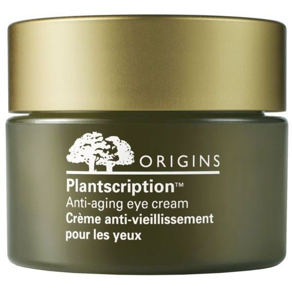 Origins  Plantscription8482 Anti-Aging Eye Treatment (640 ZAR) ❤ liked on Polyvore featuring beauty products, skincare, eye care, anti aging skincare, origins skin care, eye skin care, origins skincare and antiaging skin care