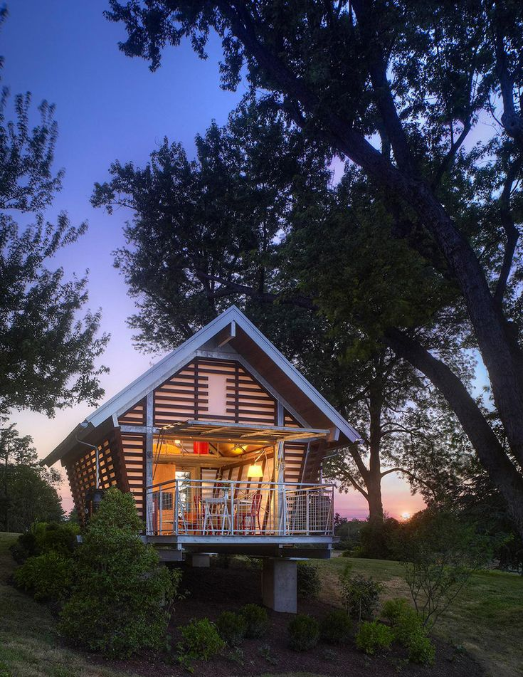 Wonderful Modern Corn Crib Designed By Broadhurst Architects, The Crib At Strathmore  In Bethesda, Maryland, Takes Its Basic Form From Traditional American Corn  Cribs, ...