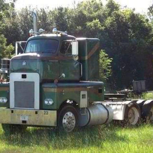Antique International Harvester Semi Tractor : Best trucks international images on pinterest