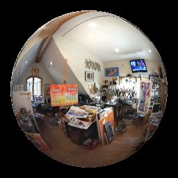Edward Bock Art Studio Oct 2015                      A 360 up and down look around the studio!