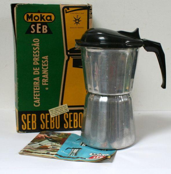 Cafetière à pression Moka Seb vintage 1950 www.lamerelipopette.com